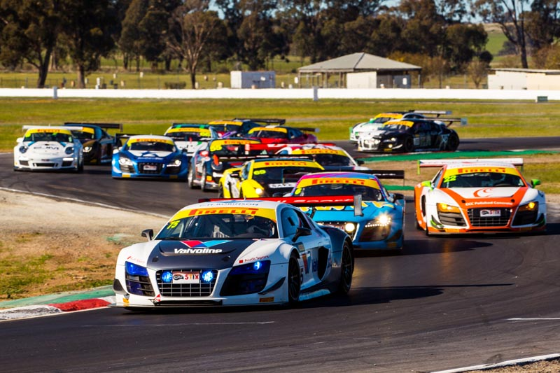 Record grid set for Queensland Raceway