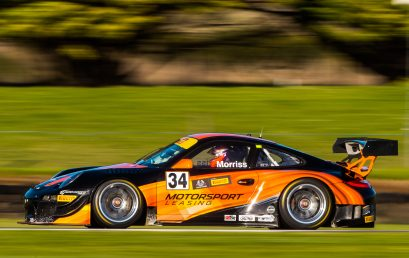 Morriss scorches to Phillip Island pole