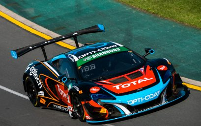 Ross seals McLaren's maiden pole