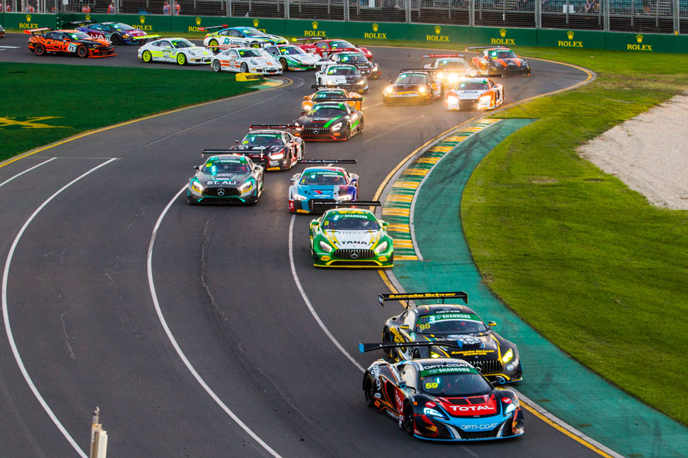 Australian GT hails Albert Park success