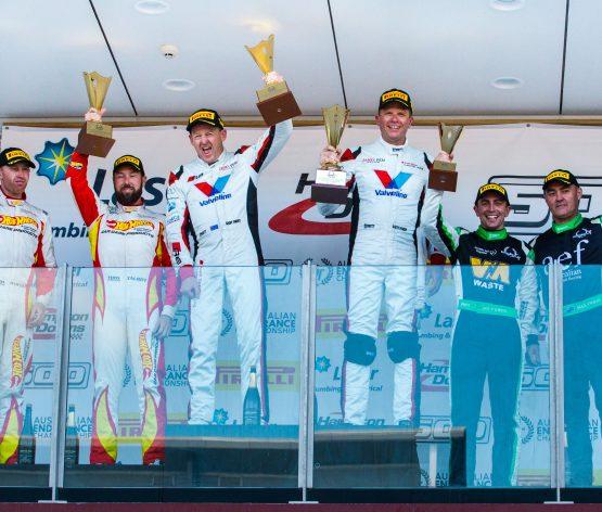 Geoff Emery and Garth Tander win extraordinary Hampton Downs 500