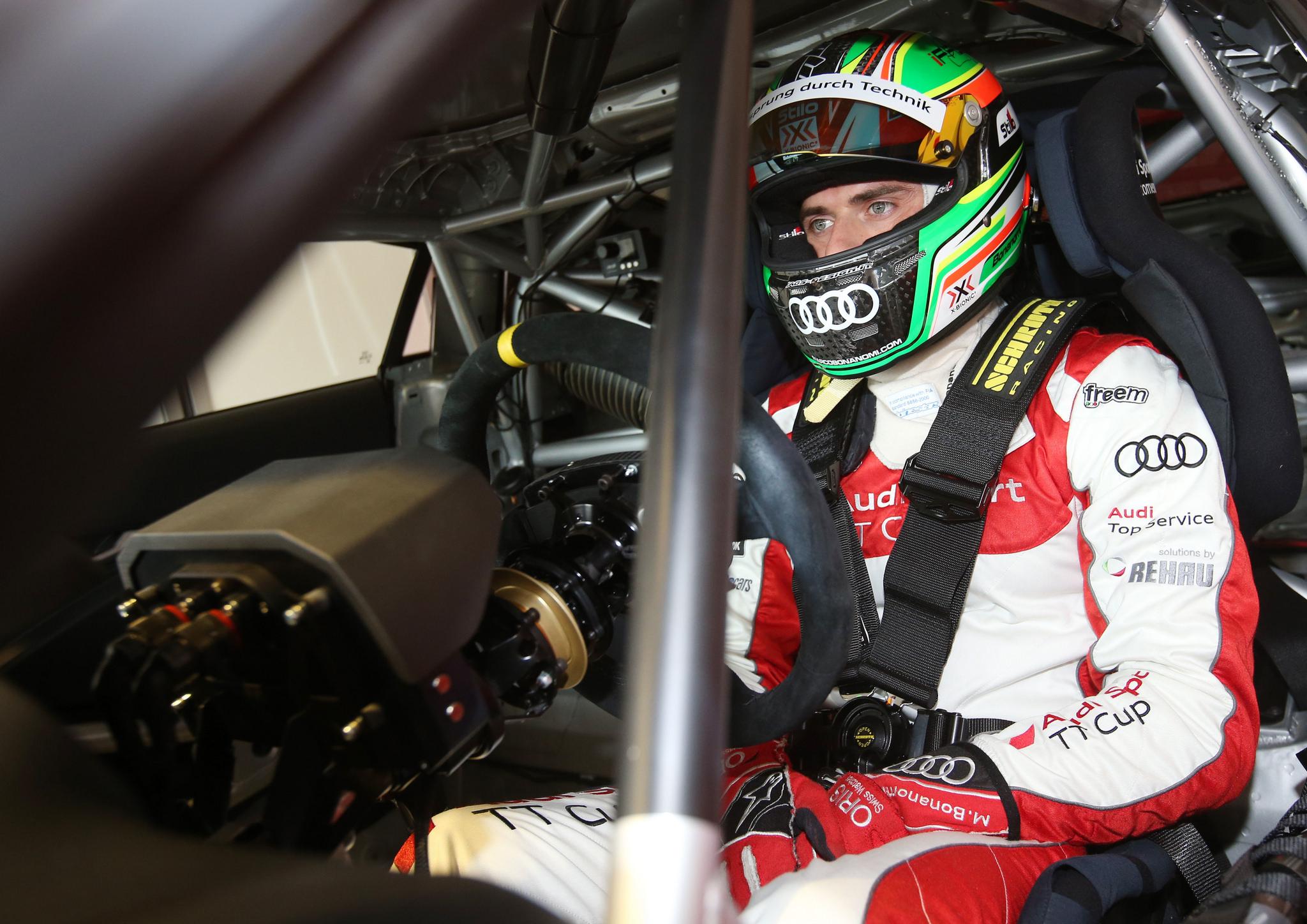 Marco Bonanomi joins JAMEC PEM Audi Customer Racing for Perth