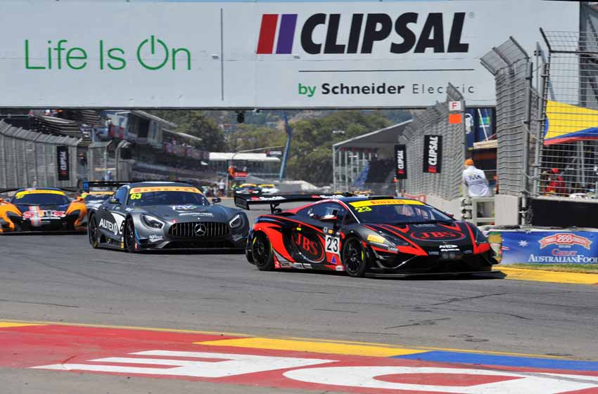 Lago surges to CAMS Australian GT opener