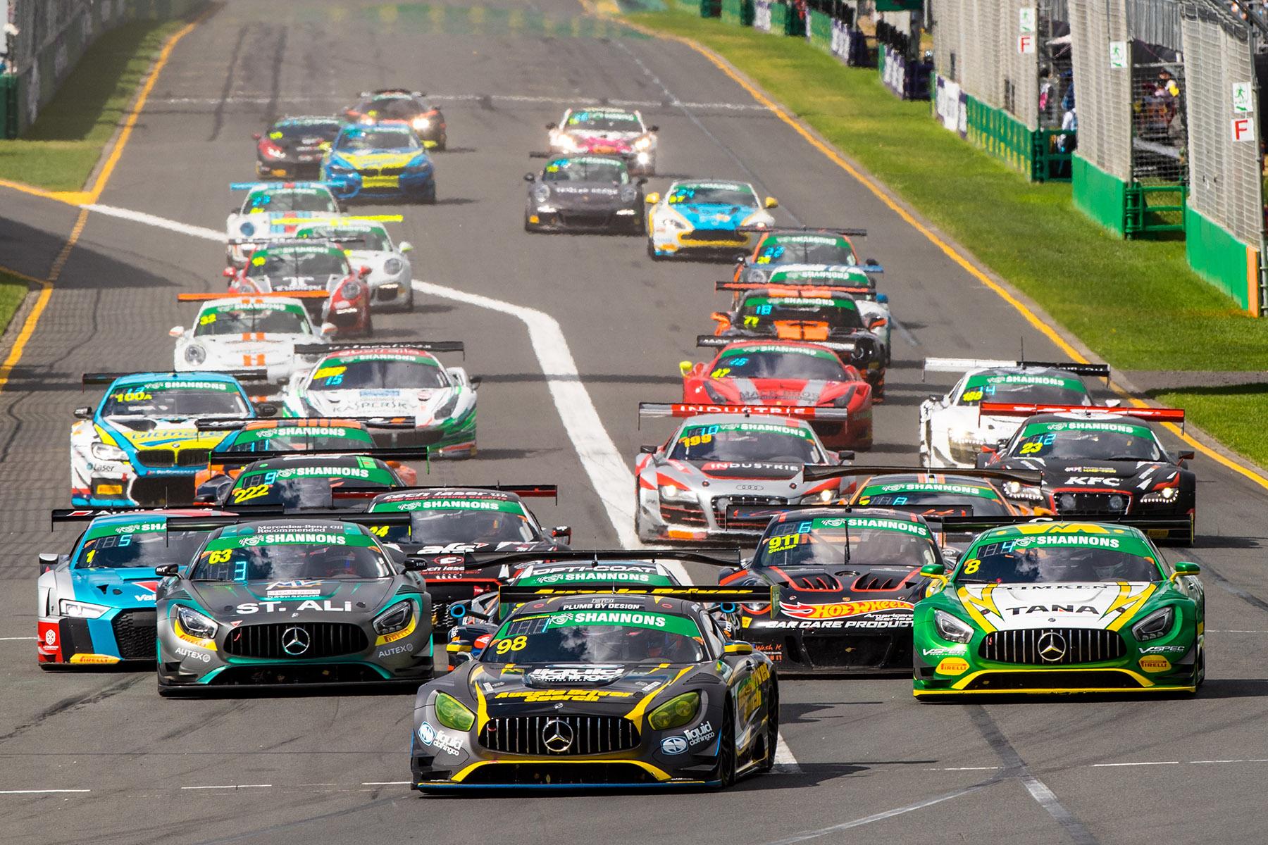 Australian GT prepares for AGP season-opener