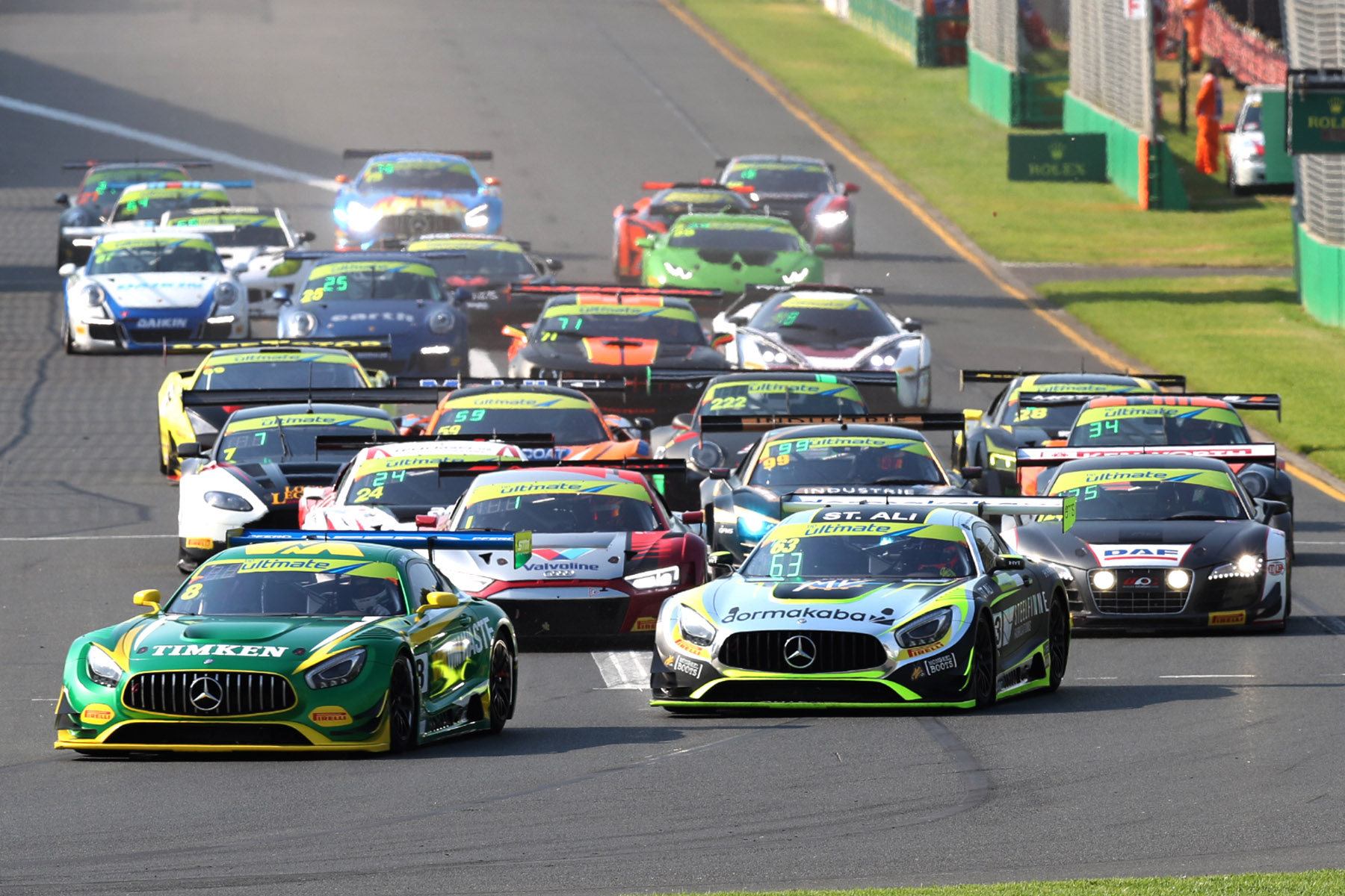 Hackett takes #63 Mercedes-AMG to maiden Australian Grand Prix win