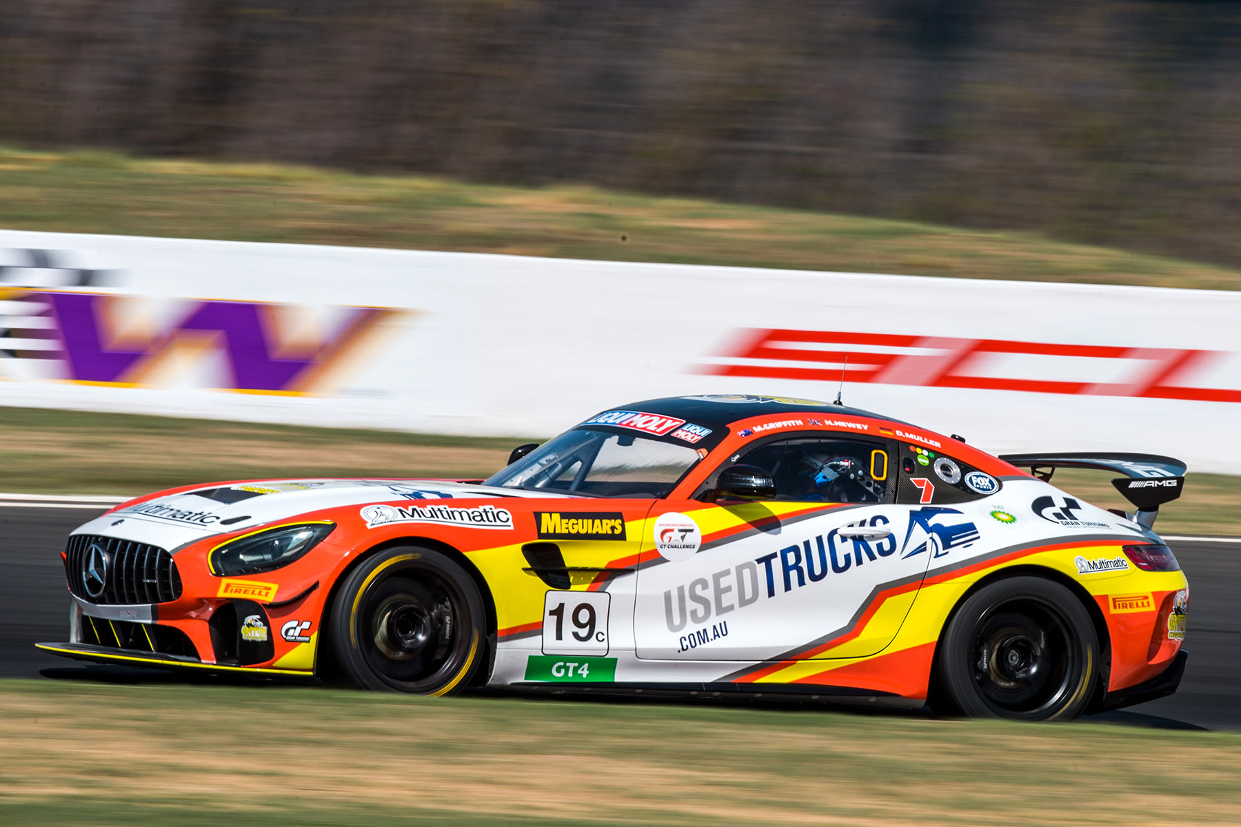 Mercedes-AMG GT4 to make Australian GT debut