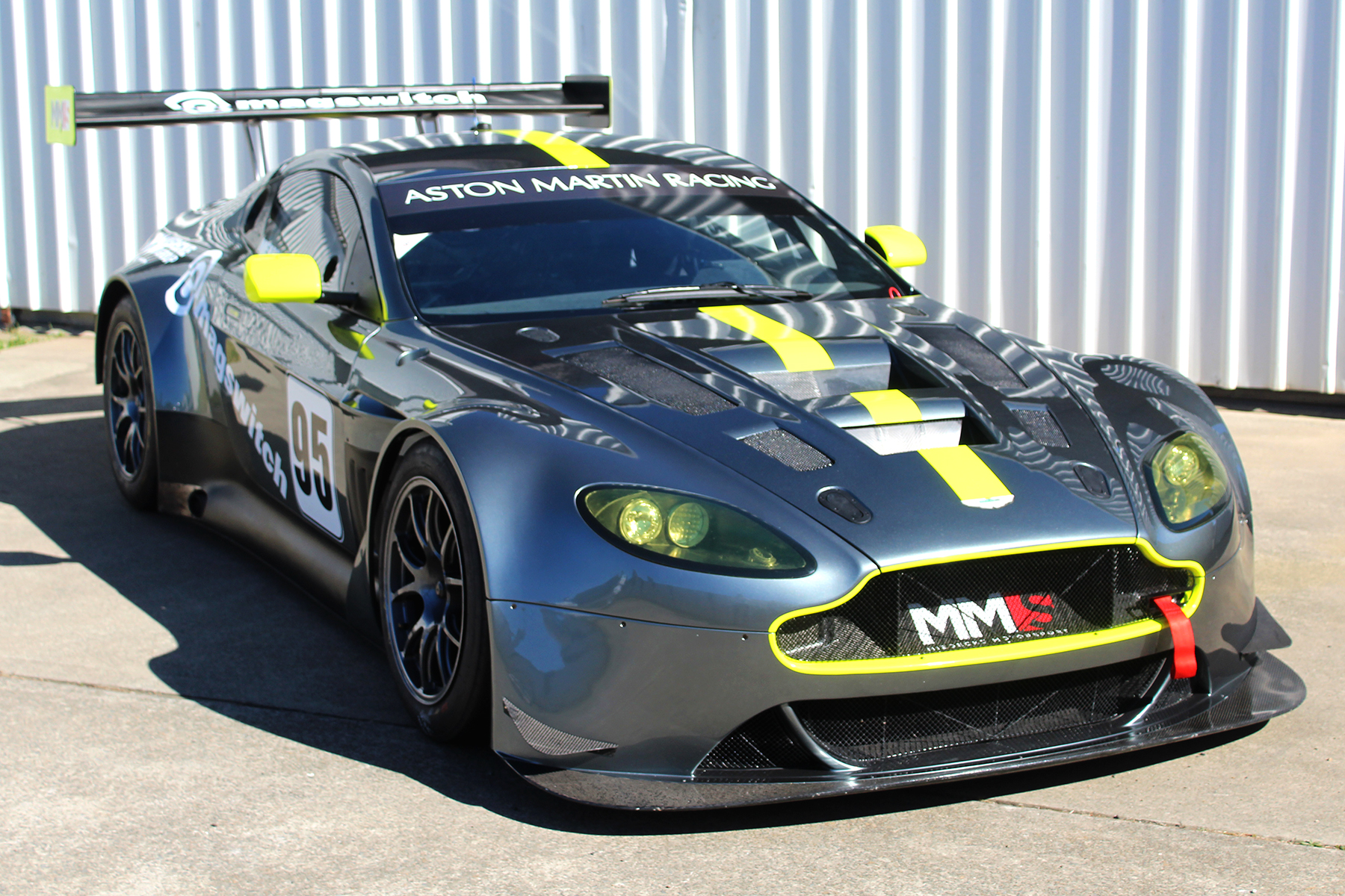 Miedeckes look for Australian GT victory with new Vantage