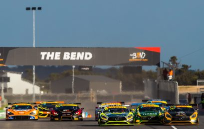 Victory to van Gisbergen and Talbot at The Bend