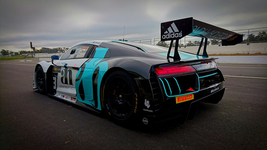 Ash Samadi to debut new Audi R8 LMS in Townsville