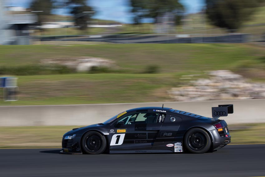 Taylor fastest as Australian GT hits Sydney