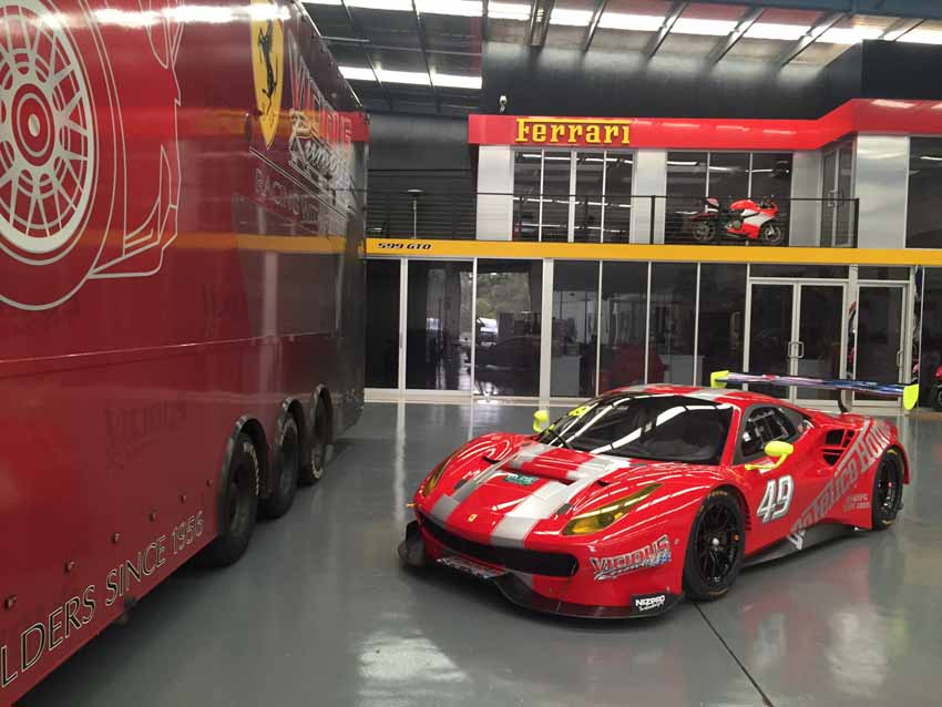 Australia's first Ferrari 488 GT3 arrives