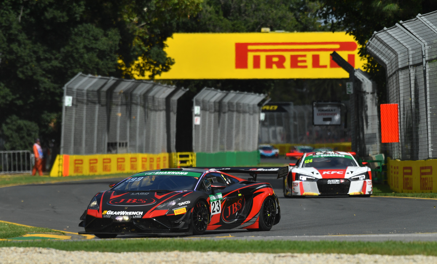 Commanding performace from Lago in Race 2 at Albert Park