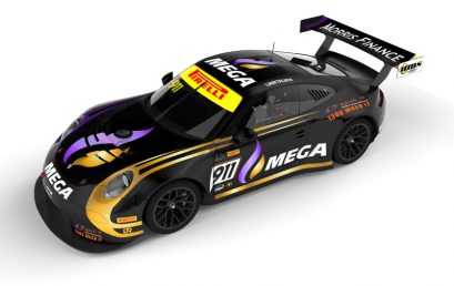 Liam Talbot and Mega Limited team up for Porsche Australian GT attack