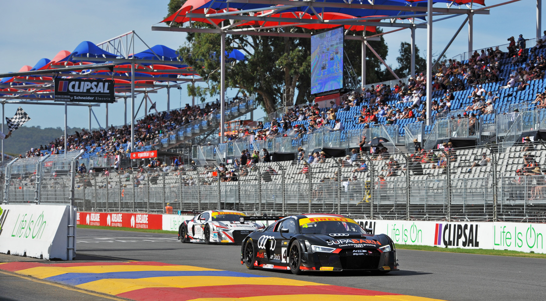 Koundouris/Marshall head Audi 1-2 in Adelaide