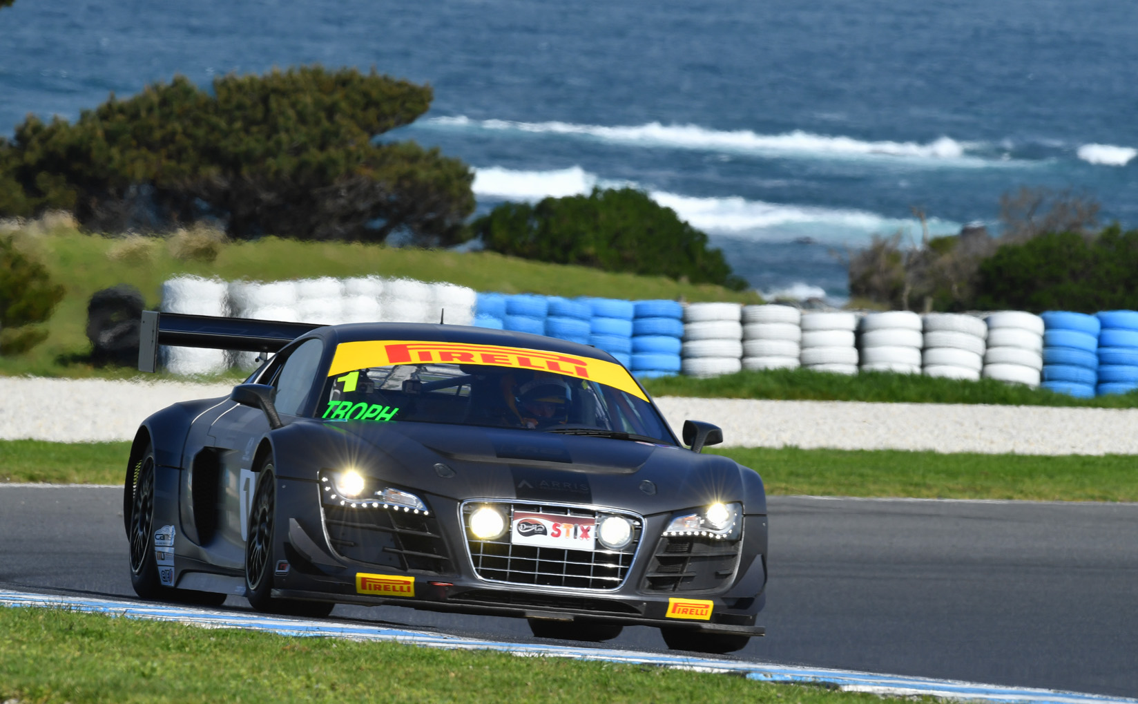 Taylor wins thrilling pole battle at Phillip Island
