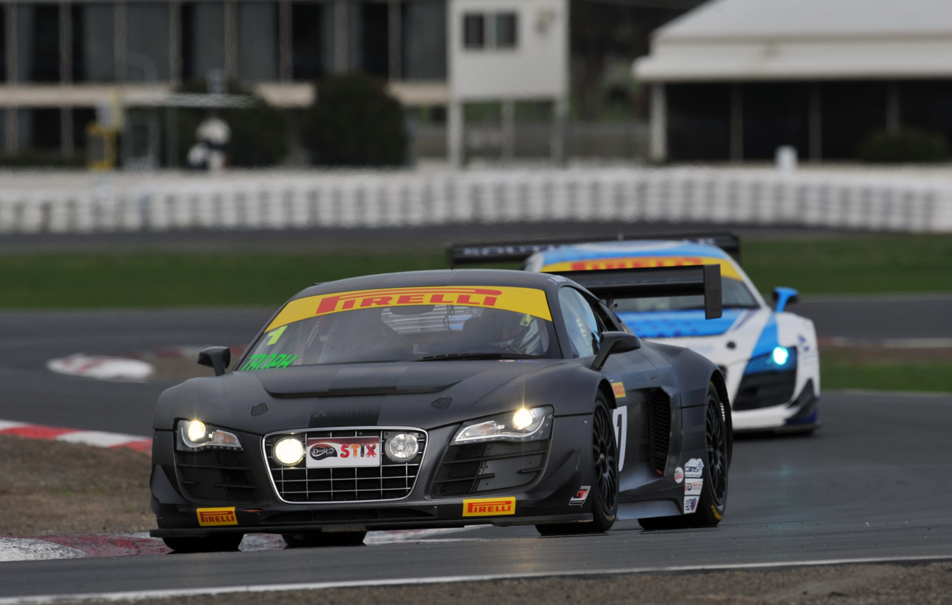 Taylor takes pole at Winton