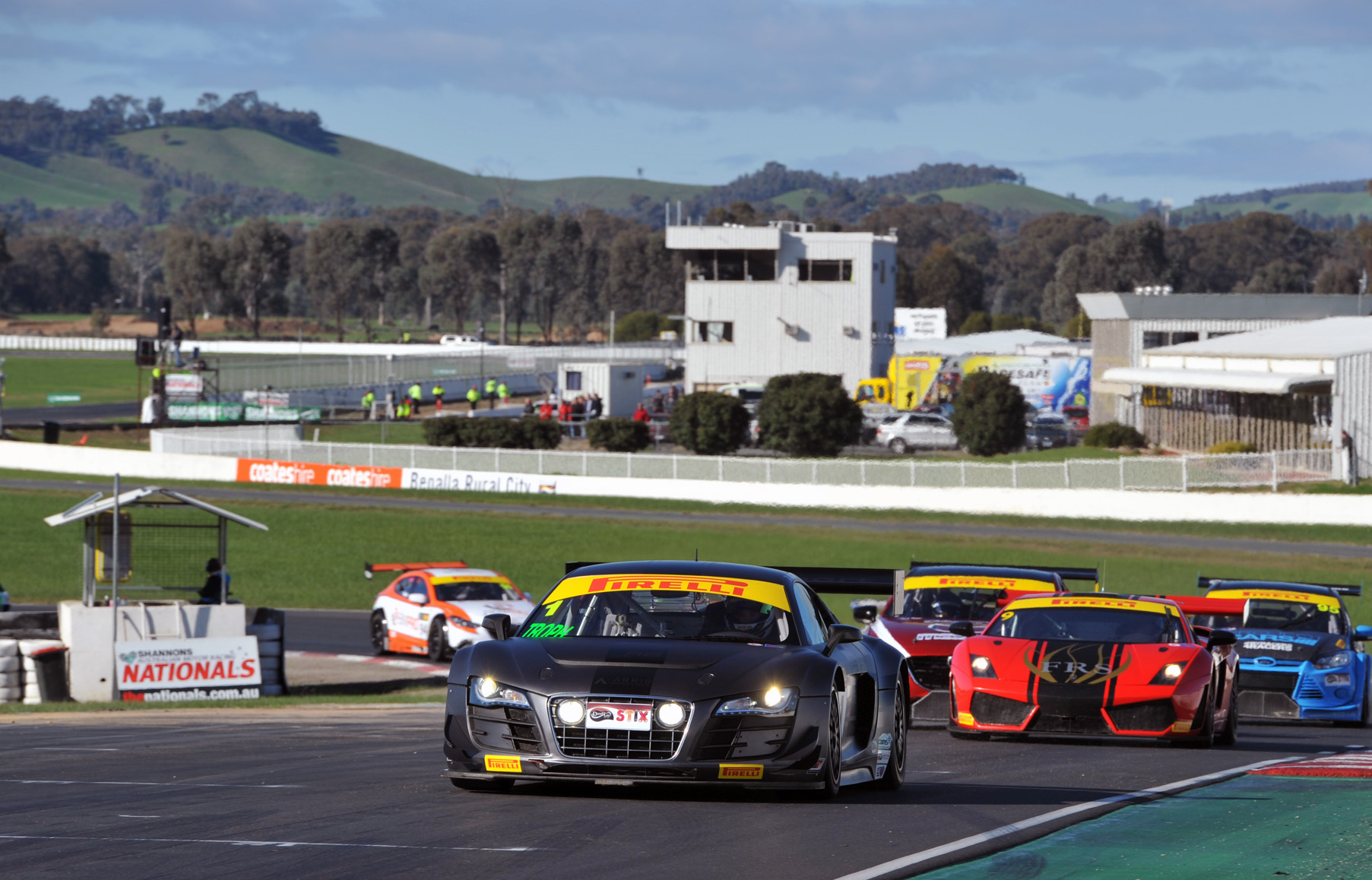 Australian GT ready to roar into Sydney