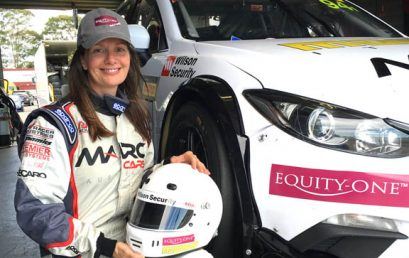 Melinda Price makes GT history in Trophy Series debut