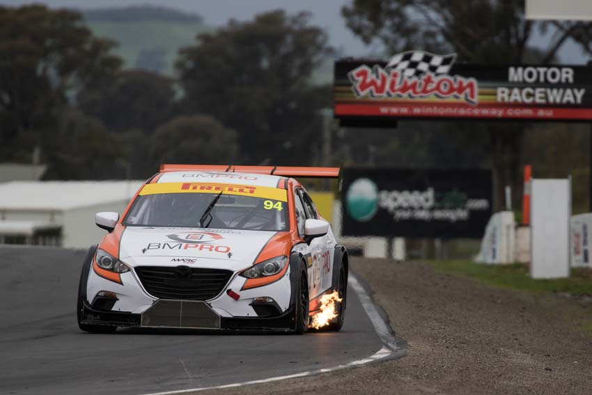 Rowe fastest after opening days running at Winton