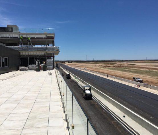 Collier visits The Bend Motorsport Park