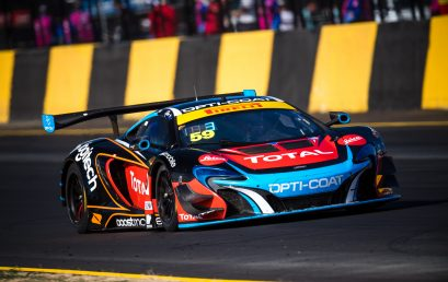 Fraser Ross takes the lead in the Australian GT Championship
