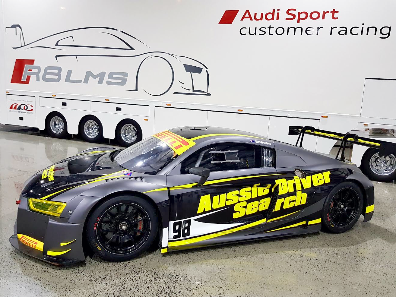 Aussie Driver Search Audi confirmed for Sandown start