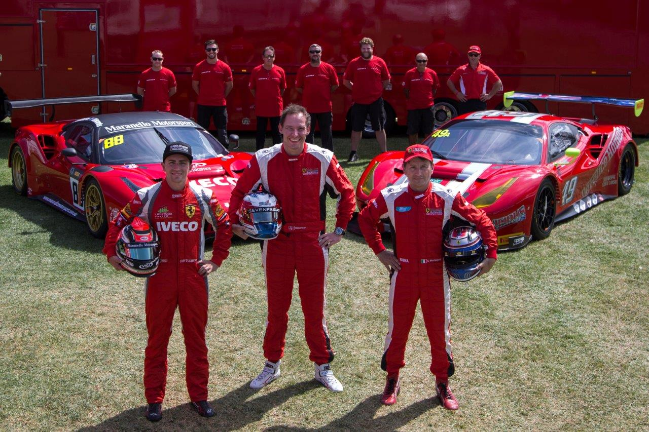 Ferrari 488 GT3 to make its international track debut