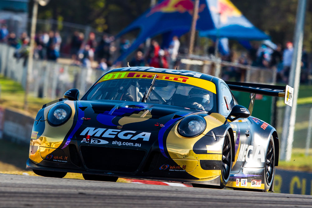 Talbot in control in Barbagallo opener