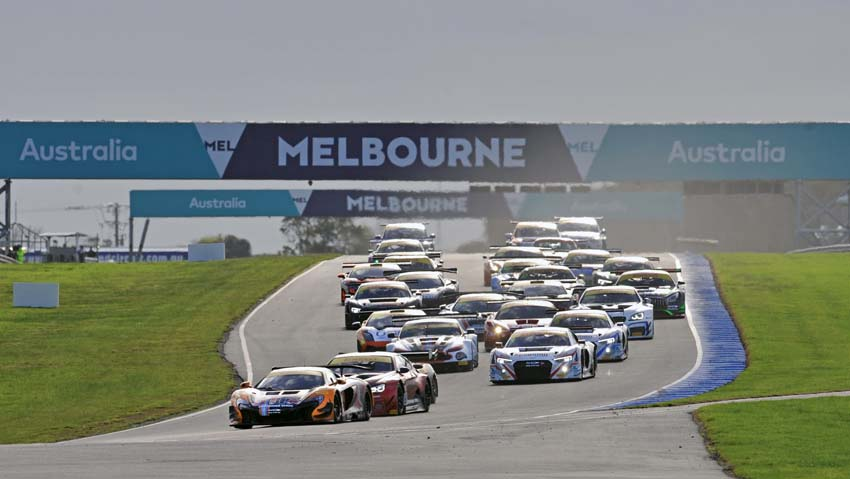 McLaren makes history in first CAMS Australian Endurance Championship event