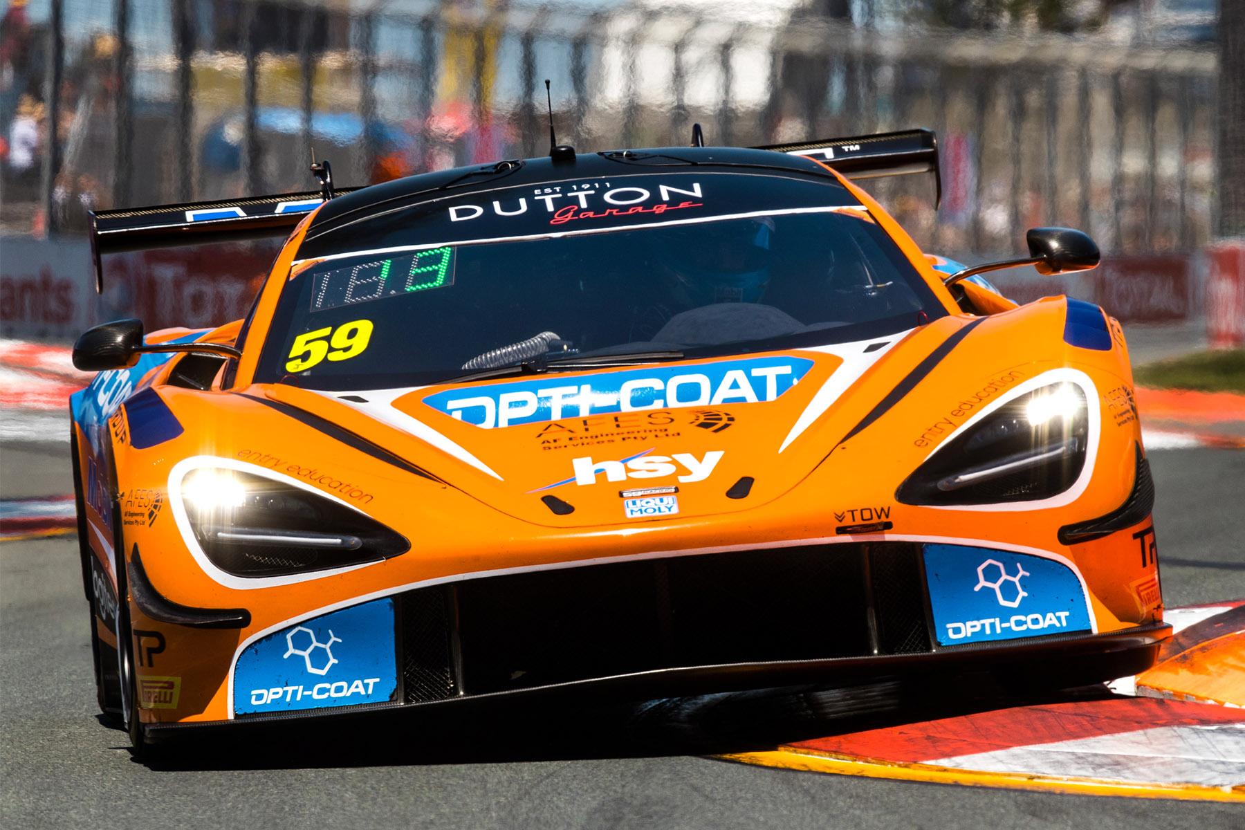 Fraser Ross claims pole position for Australian GT Gold Coast return