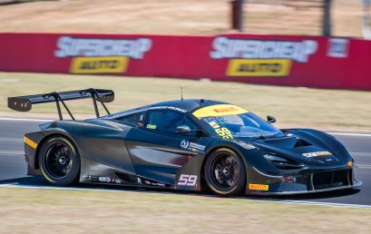 McLaren, Mercedes-AMG and Audi set hot pace at Bathurst