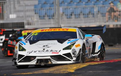 Major heads Lamborghini 1-2 in Adelaide