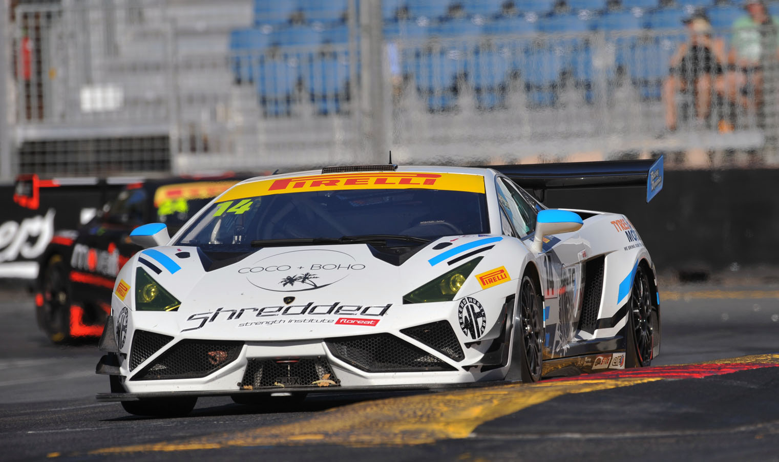 Major heads Lamborghini 1-2 in Adelaide