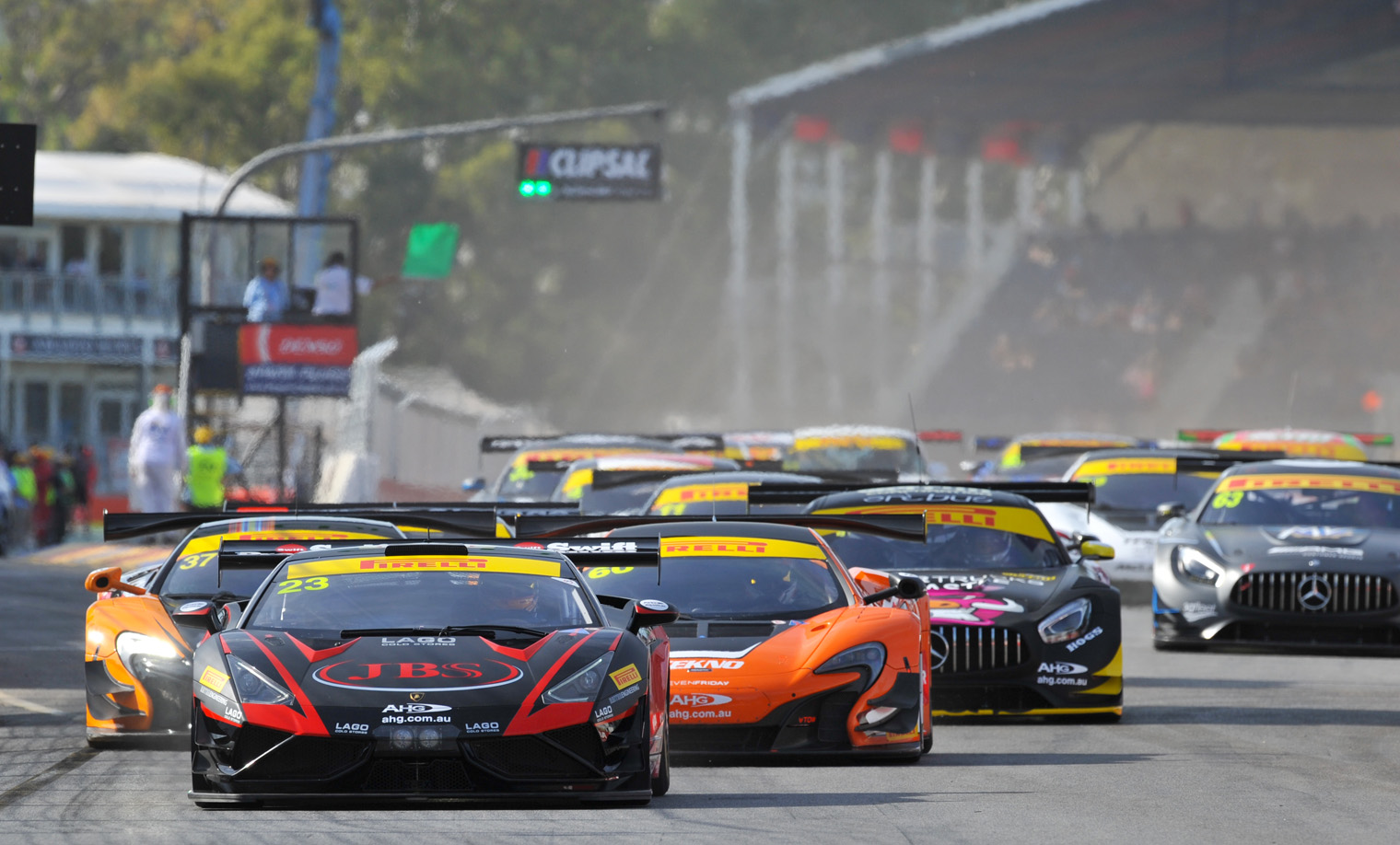 Record field set for Australian GT opener