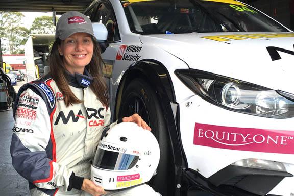 Melinda Price makes GT history in Trophy Series debut