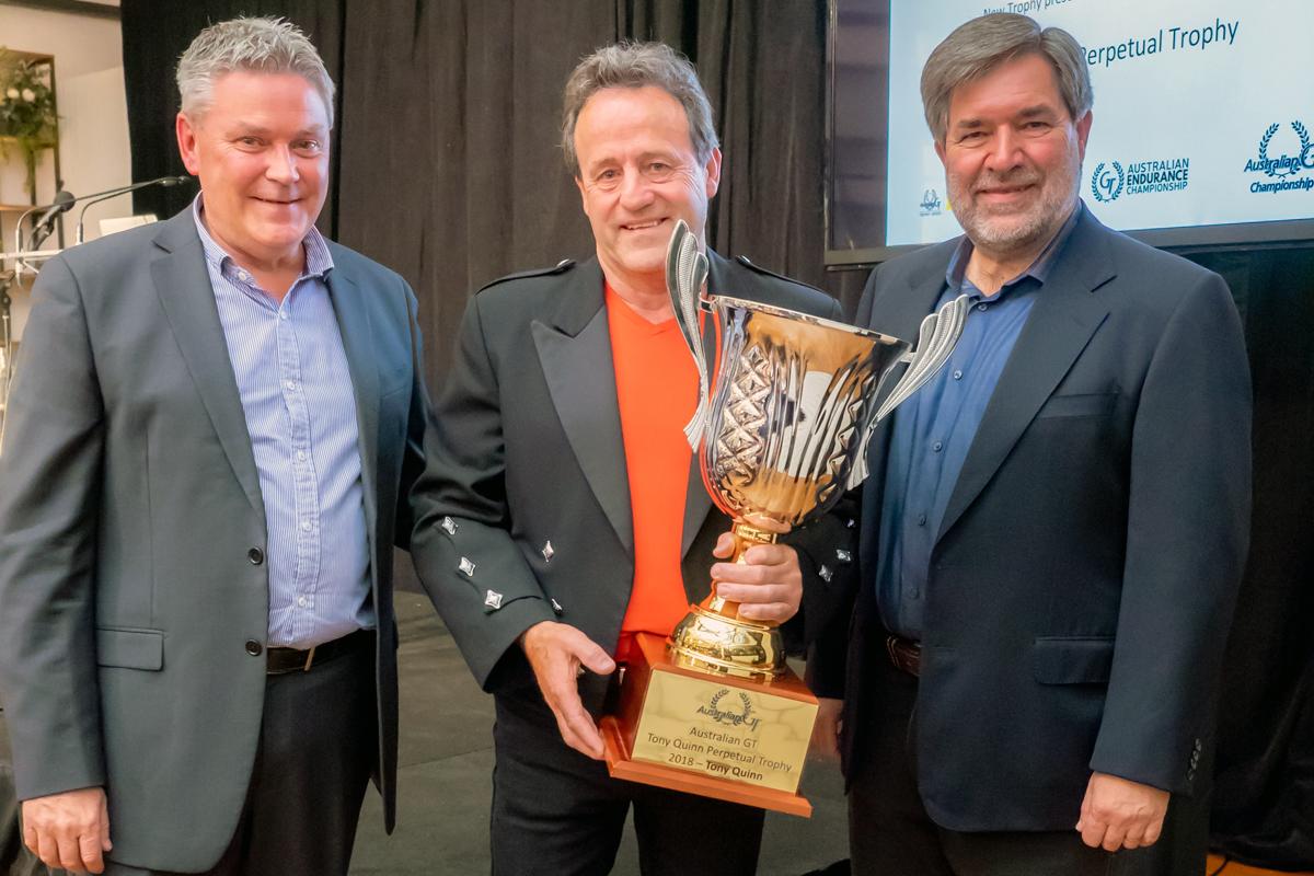 Tony Quinn honoured at Australian GT Gala
